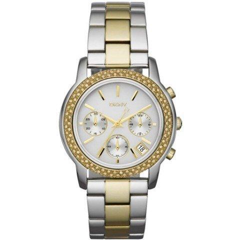 DKNY ny8431 40mm Multicolor Steel Bracelet & Case Mineral Men's Watch