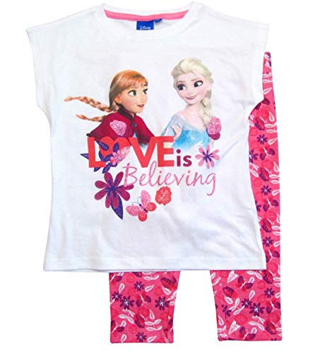 igin Set Tunika und Leggings Disney (Weiß-Rosa, 98-104) ()