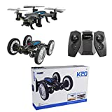 Bangcool RC Quadcopter WIFI HD Camera Sky Ground Mode RC Car RC Drone Four Axis Aircraft