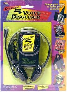 Stimmen verändern umwandeln mit Headset und Mikrofon