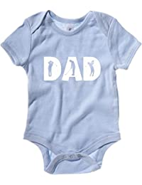 Cotton Island - Baby Bodysuit OLDENG00513 golf dad black