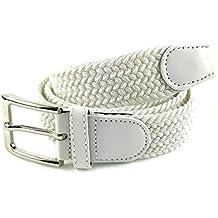 nuova collezione 8eca7 0fee8 Amazon.it: Cintura Bianca Uomo - Spedizione gratuita via Amazon