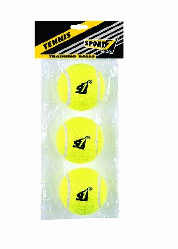 Palle tennis SPORT ONE busta da 3 colore giallo
