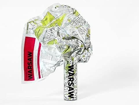 Warsaw Crumpled City Map (Crumpled City Maps)
