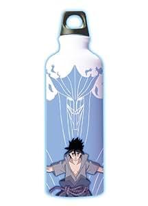 """Kotobukiya """"Naruto"""" Uchiha Sasuke Thermal Aluminum Bottle (japan import)"""