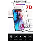 VALUEACTIVE Accessories For All 7D Full Cover Edge To Edge Anti-Scratch And Fingerprint Tempered Glass For Xiaomi Poco F1 (Black)