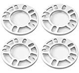 """Autobahn88 0.3"""" (8mm) Universal Vehicle Wheel Spacer, for PCD 4x98 4x100 4x110 4x108"""