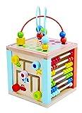Tooky Toys TKB521 Andreu Play Cube Center,, 19.2 x 19.2 x 19.2 cm