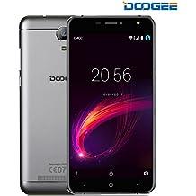Smartphone Libre, DOOGEE X7 Pro Teléfonos Móviles Libres Baratos - Android 6.0 4G Móvil Libre - MTK6737 Quad Core 1.2GHz - 6.0 Pulgadas HD IPS Pantalla VR Soportado - 8 MP Cámara - 2GB RAM + 16GB ROM - Batería de 3700mAh, Gesto Inteligente, OTG, OTA - Plateado