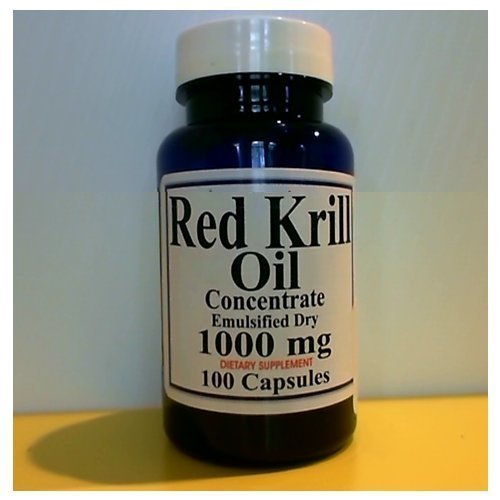 Red Krill Oil - 1000 Mg - 100 Capsules - Dr Oz. Recommended by Certified Seller 5 Star