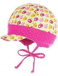 maximo Baby-Mädchen Mütze Schildmütze mit Bund