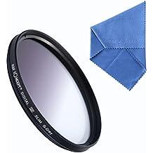 K&F Concept 67mm Graduado ND Dendidad Neutra de Color Gris Filtro de Accessrios de Lente para Canon 7D 700D 600D 70D 60D 650D 550D para Nikon D7100 D80 D90 D7000 D5200 D3200 D5100 D3200 D5300 DSLR Cámaras + Paño de Limpieza