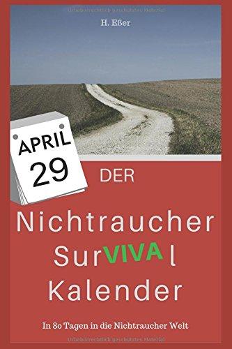 vival Kalender: In 80 Tagen in die Nichtraucher Welt (Tag Kalender)