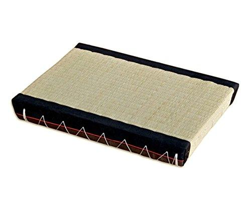 Tatami Sitzkissen japanische Matte Bodenmatte Reisstrohmatte Igusa-Gras