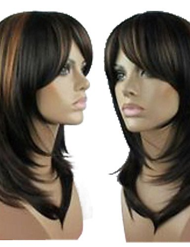 Fashion wigstyle Außenhandel Perücke cos Hochtemperatur Seide gemischt Farbe Lang Gelockt blond Perücke auf Verkauf billige