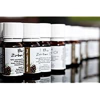 Bio Zirbenöl - 5er Pack - 5X 10ml - 100% naturrein - höchste Qualität durch Destillation preisvergleich bei billige-tabletten.eu