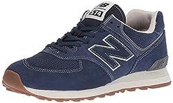 New Balance Herren Ml574v2, blau, 43 EU