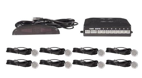 8 Sensores de aparcamiento para coche delantero y trasero, electromagnético, sensor para...