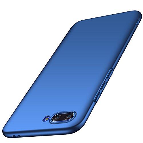 anccer Huawei Honor 10 Hülle, [Serie Matte] Elastische Schockabsorption & Ultra Thin Design für Huawei Honor 10 (Glattes Blau)