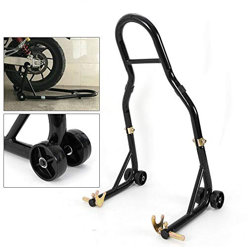Motorradhalterung für Hinterrad, verstellbar in der Breite, passend für fast alle Motorräder