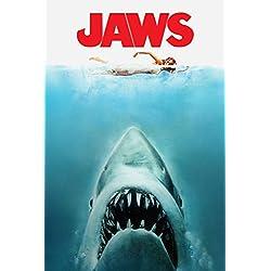 'Jaws' Póster de la película (1975, Steven Spielberg), papel, A2