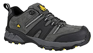 Amblers Safety Mens FS220 W/P Leather Waterproof Safety Boots Black qy1q0J
