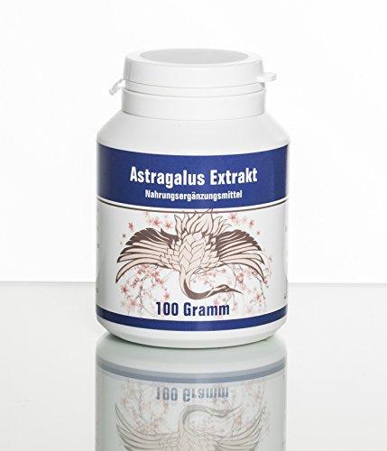 Astragalus Lose - 100 Gramm (10:1 Extrakt aus der Wurzel - 70% Polysaccharide) (1)