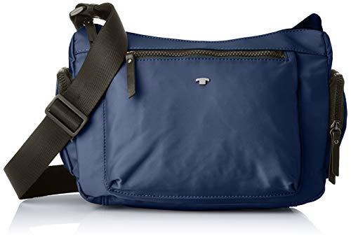 TOM TAILOR Schultertasche Damen, Harper, Blau, 29x21.5x12 cm, TOM TAILOR Taschen für Damen