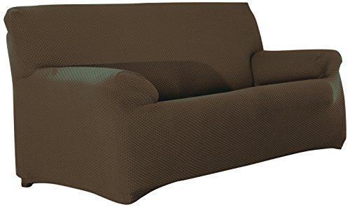 Sucre funda sofa 3 plazas 07-marron