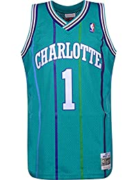 Mitchell & Ness Charlotte Hornets Muggsy Bogues Camiseta sin Mangas