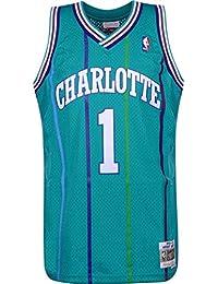 Mitchell & Ness Charlotte Hornets Muggsy Bogues Camiseta sin Mangas