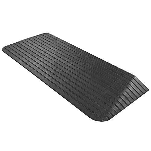 HomeCare Innovation   Rampa per soglia Gomma   Rampa per gradini (2,5 x 21 x 110 cm)