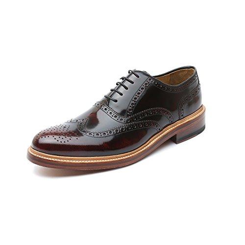 Gordon & Bros5150-b Bourgogne - Chaussures Homme Avec Lacets, Rouge, Taille 44 Eu