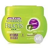 Set 6Fructis Masque hydra-ricci 300ml Soin et Traitement des cheveux