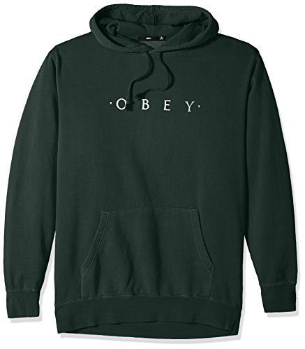 Obey Novel Hoodie dusty forest