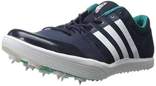 Scarpe Adidas Performance Adizero Lj Pista Collegiate Navy/White/Green
