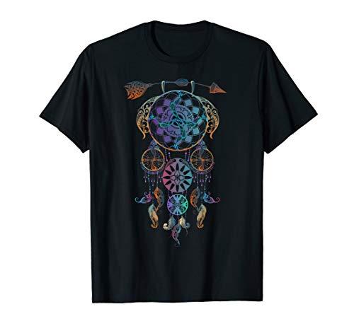 Dream Catcher T-Shirt - Aquarell Dream Catcher, Boho T-Shirt