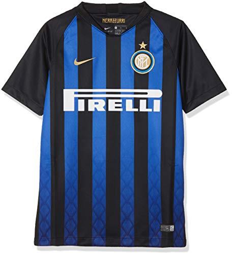 89e98d5e8e0951 Nike 2018/19 Inter Milan Stadium Home - Partes de Arriba de Ropa Deportiva  para
