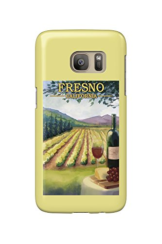Price comparison product image Fresno,  California - Wine Country (Galaxy S7 Cell Phone Case,  Slim Barely There)