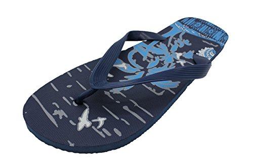 Herren Sommer/Strand Wear Zehentrenner mit tropischem Druck