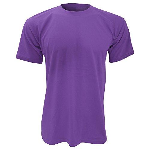 B&C Exact 150 T-Shirt für Männer Violett - Violett