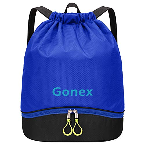 Gonex Mochila Cuerdas Unisex Bolsas Zapatos Impermeable