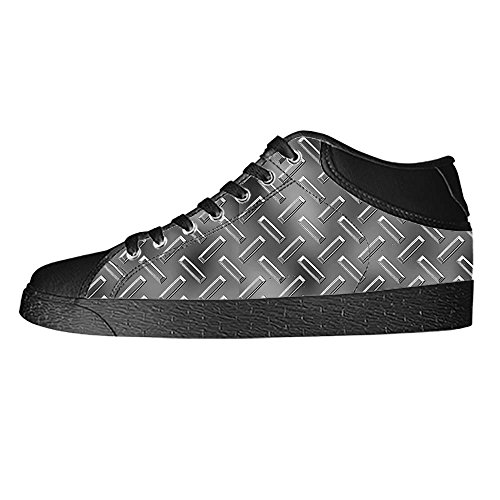 Dalliy Metal Men's Canvas shoes Schuhe Lace-up High-top Sneakers Segeltuchschuhe Leinwand-Schuh-Turnschuhe A
