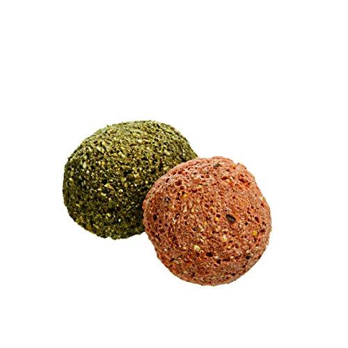 Monties Pferdeleckerlis, Karotte-/Kräuter-Snacks, Extrudiert, Größe ca. 4,5 cm Durchmesser, Gourmet-Snacks, 10 kg