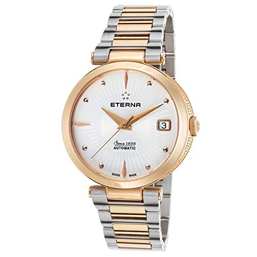 Eterna Women's Steel Bracelet & Case Automatic Analog Watch 2944-55-66-1711