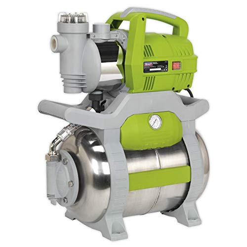 Sealey WPB062S 55ltr/min Stainless Steel Surface Mounting Booster Pump 230V