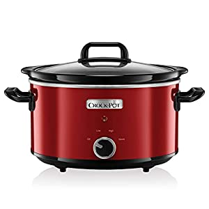 Crock-Pot SCV400RD-050 Schongarer, 3.5 liters, Rot