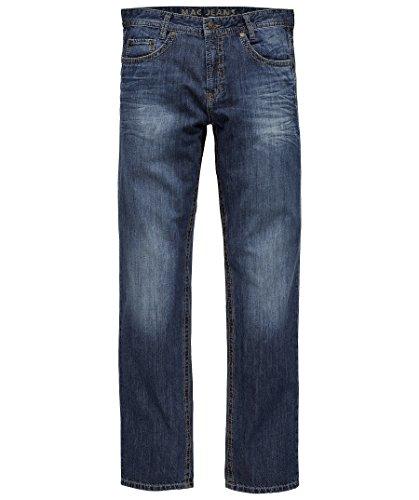 MAC Herren Straight Leg Jeanshose Arne 10 Darkblue