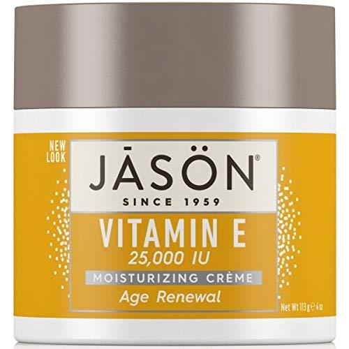Vitamin E Creme - 25,000 IU 4 oz ( Multi-Pack) by Jason Natural Cosmetics -