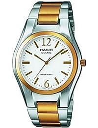 Casio Reloj Analógico para Mujer de Cuarzo con Correa en Acero Inoxidable LTP-1280PSG-
